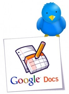 Google Docs and Twitter