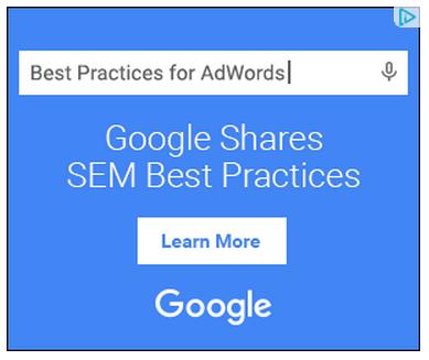 googles google adwords ad 2