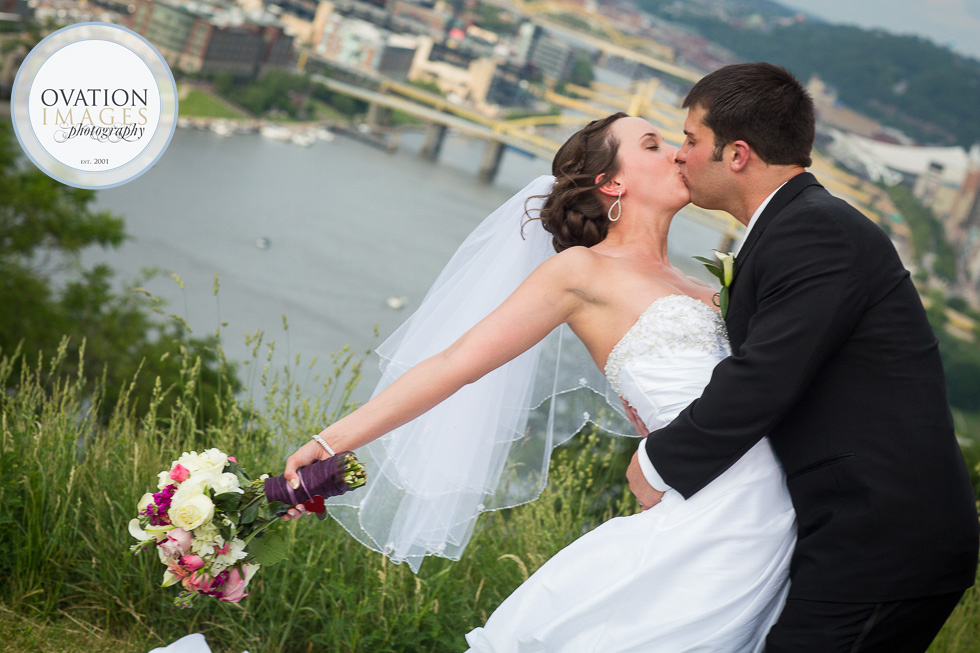 groom-dipping-bride-pittsburgh-skyline1