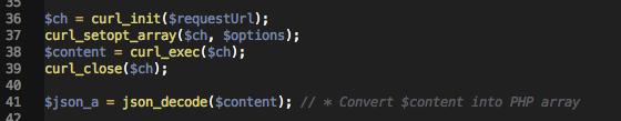 using json_decode