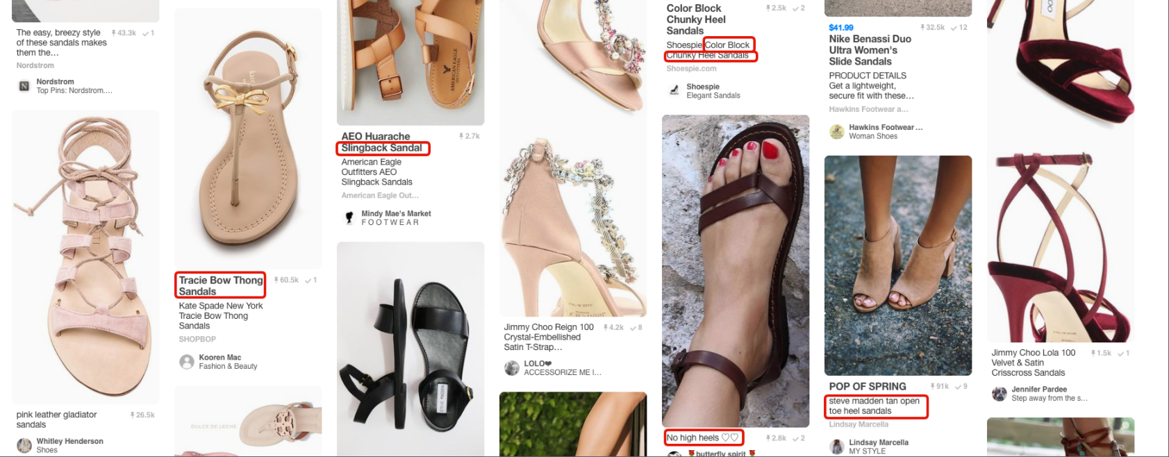 pinterest keyword search results
