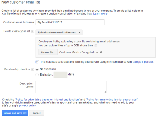 Encrypting Emails For Google AdWords Customer Match   Bounteous