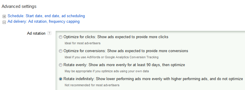 New AdWords Ad Rotation Updates | Bounteous