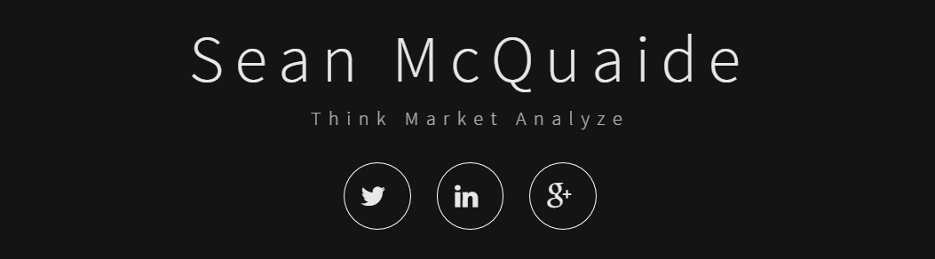 Website for Sean McQuaide