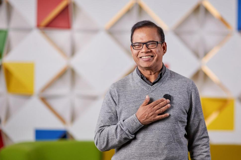 Amit Singhal, Head of Search @ Google. Credit: Google