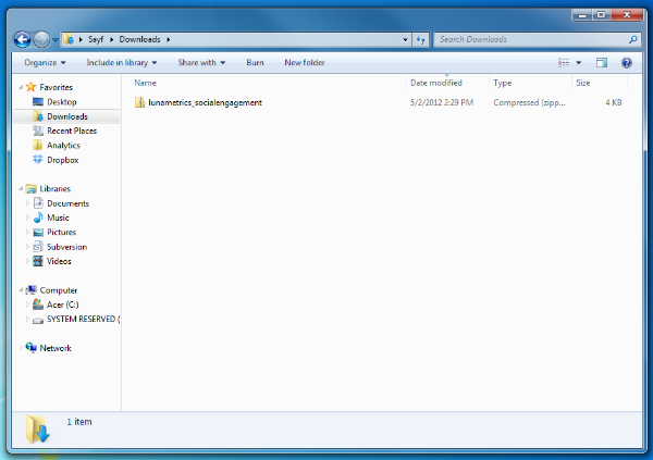 step1 - download the zip file