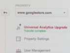 Universal Analytics upgrade option