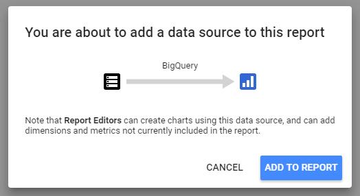 warning adding data source