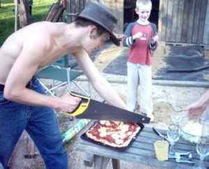 Wrong tool for Pizza